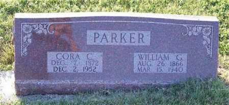PARKER, CORA C. - Frontier County, Nebraska   CORA C. PARKER - Nebraska Gravestone Photos