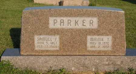 PARKER, MINNIE T. - Frontier County, Nebraska | MINNIE T. PARKER - Nebraska Gravestone Photos