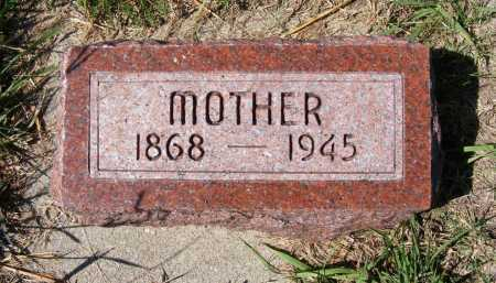 PARKIN, MOTHER - Frontier County, Nebraska | MOTHER PARKIN - Nebraska Gravestone Photos