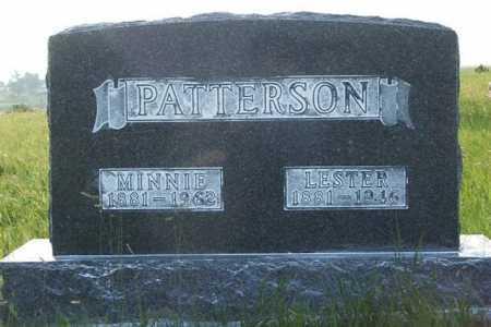 PATTERSON, MINNIE - Frontier County, Nebraska | MINNIE PATTERSON - Nebraska Gravestone Photos