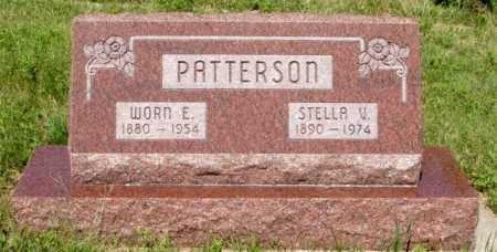 PATTERSON, WORN E. - Frontier County, Nebraska   WORN E. PATTERSON - Nebraska Gravestone Photos