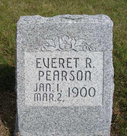 PEARSON, EVERET R. - Frontier County, Nebraska | EVERET R. PEARSON - Nebraska Gravestone Photos