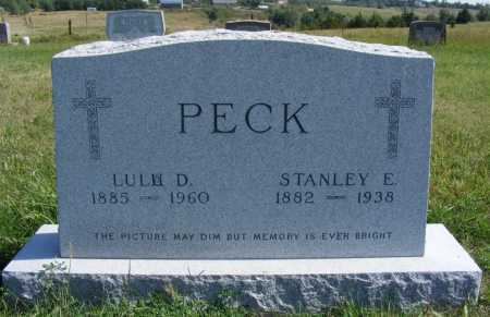 PECK, STANLEY E. - Frontier County, Nebraska | STANLEY E. PECK - Nebraska Gravestone Photos