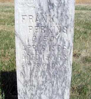 PERKINS, FRANK - Frontier County, Nebraska | FRANK PERKINS - Nebraska Gravestone Photos