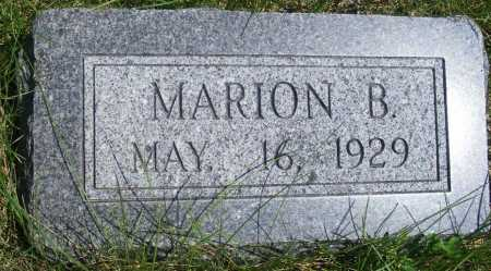 PETERSON, MARION B. - Frontier County, Nebraska | MARION B. PETERSON - Nebraska Gravestone Photos