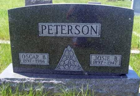 PETERSON, OSCAR B. - Frontier County, Nebraska | OSCAR B. PETERSON - Nebraska Gravestone Photos