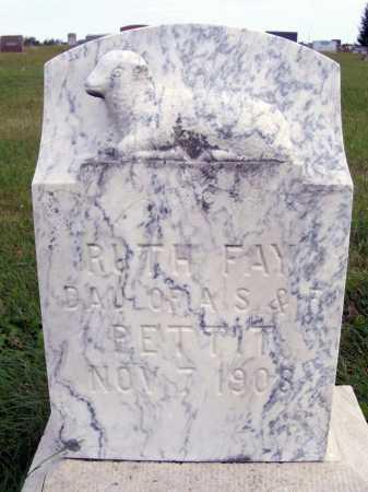 PETTIT, RUTH FAY - Frontier County, Nebraska | RUTH FAY PETTIT - Nebraska Gravestone Photos