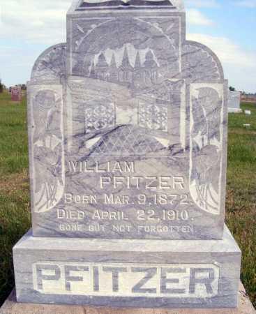 PFITZER, WILLIAM - Frontier County, Nebraska   WILLIAM PFITZER - Nebraska Gravestone Photos