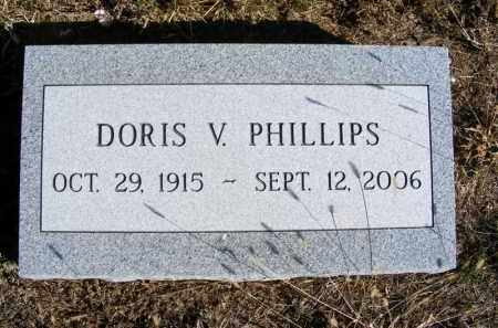 PHILLIPS, DORIS V. - Frontier County, Nebraska | DORIS V. PHILLIPS - Nebraska Gravestone Photos