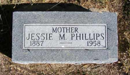 PHILLIPS, JESSIE M. - Frontier County, Nebraska | JESSIE M. PHILLIPS - Nebraska Gravestone Photos