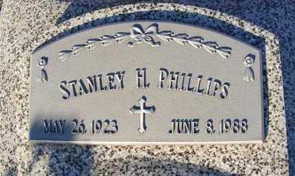 PHILLIPS, STANLEY H. - Frontier County, Nebraska | STANLEY H. PHILLIPS - Nebraska Gravestone Photos