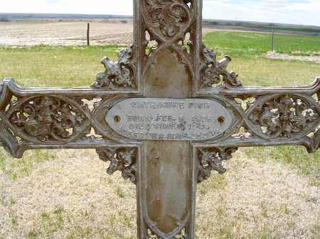 PICK, KATHERINE - Frontier County, Nebraska | KATHERINE PICK - Nebraska Gravestone Photos