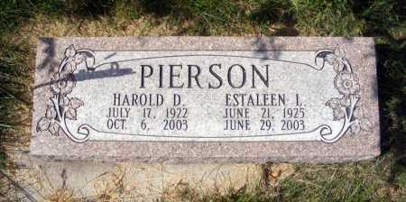 PIERSON, ESTALEEN L. - Frontier County, Nebraska | ESTALEEN L. PIERSON - Nebraska Gravestone Photos