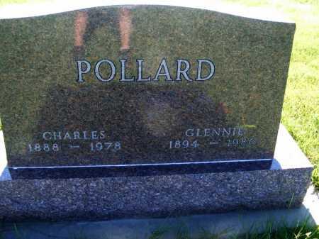 POLLARD, GLENNIE - Frontier County, Nebraska | GLENNIE POLLARD - Nebraska Gravestone Photos