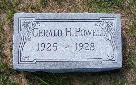 POWELL, GERALD H. - Frontier County, Nebraska | GERALD H. POWELL - Nebraska Gravestone Photos