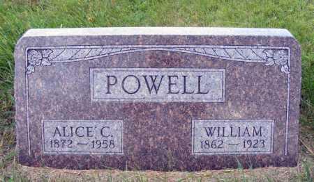 POWELL, ALICE C. - Frontier County, Nebraska | ALICE C. POWELL - Nebraska Gravestone Photos