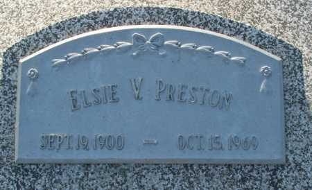 STINNETTE PRESTON, ELSIE V. - Frontier County, Nebraska | ELSIE V. STINNETTE PRESTON - Nebraska Gravestone Photos