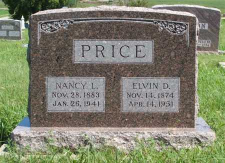 PRICE, NANCY L. - Frontier County, Nebraska | NANCY L. PRICE - Nebraska Gravestone Photos