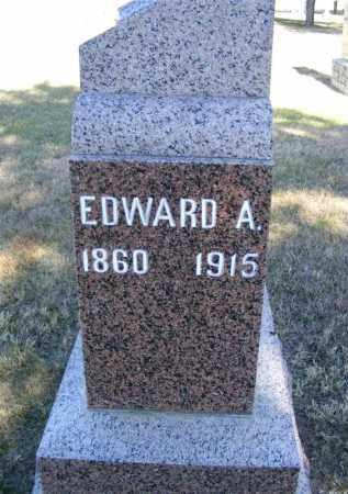PURDY, EDWARD A. - Frontier County, Nebraska | EDWARD A. PURDY - Nebraska Gravestone Photos