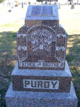 PURDY, FAMILY - Frontier County, Nebraska | FAMILY PURDY - Nebraska Gravestone Photos