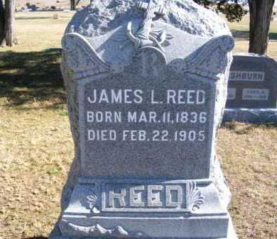REED, JAMES L. - Frontier County, Nebraska | JAMES L. REED - Nebraska Gravestone Photos