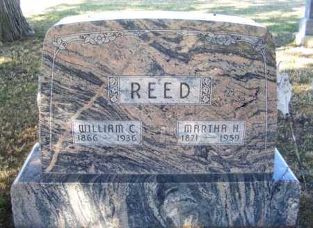REED, MARTHA H. - Frontier County, Nebraska | MARTHA H. REED - Nebraska Gravestone Photos