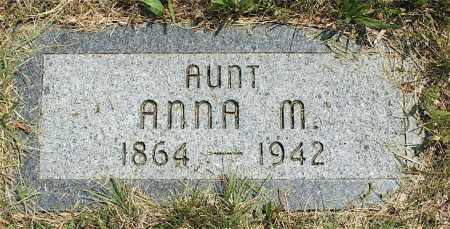 REEVES, ANNA M. - Frontier County, Nebraska | ANNA M. REEVES - Nebraska Gravestone Photos