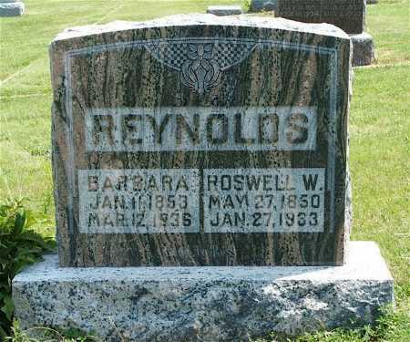 REYNOLDS, BARBARA - Frontier County, Nebraska   BARBARA REYNOLDS - Nebraska Gravestone Photos