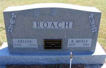 ROACH, R. MERLE - Frontier County, Nebraska | R. MERLE ROACH - Nebraska Gravestone Photos