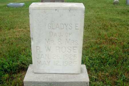 ROSE, GLADYS E. - Frontier County, Nebraska | GLADYS E. ROSE - Nebraska Gravestone Photos