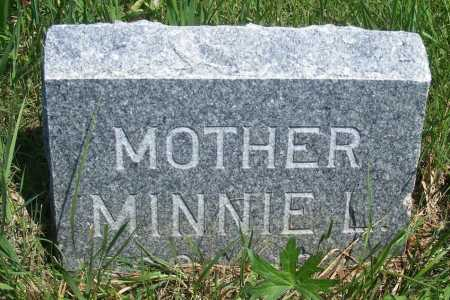 FLINT ROWLAND, MINNIE L. - Frontier County, Nebraska | MINNIE L. FLINT ROWLAND - Nebraska Gravestone Photos