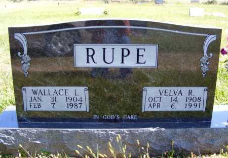 RUPE, VELVA R. - Frontier County, Nebraska | VELVA R. RUPE - Nebraska Gravestone Photos