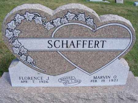 SCHAFFERT, MARVIN O. - Frontier County, Nebraska   MARVIN O. SCHAFFERT - Nebraska Gravestone Photos