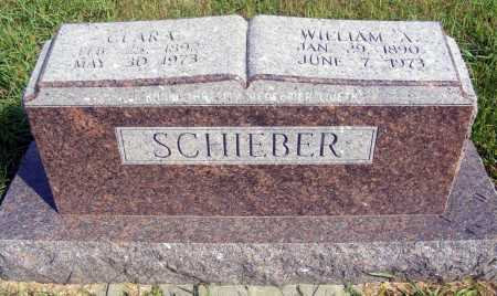 SCHIEBER, WILLIAM A. - Frontier County, Nebraska | WILLIAM A. SCHIEBER - Nebraska Gravestone Photos