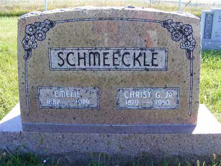 SCHMEECKLE, CHRIST G. JR. - Frontier County, Nebraska | CHRIST G. JR. SCHMEECKLE - Nebraska Gravestone Photos