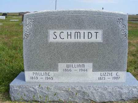 SCHMIDT, LIZZIE C. - Frontier County, Nebraska | LIZZIE C. SCHMIDT - Nebraska Gravestone Photos