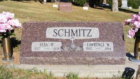 SCHMITZ, ELSA M. - Frontier County, Nebraska | ELSA M. SCHMITZ - Nebraska Gravestone Photos