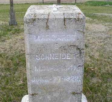 BLOTZ SCHNEIDER, MARGARET S. - Frontier County, Nebraska | MARGARET S. BLOTZ SCHNEIDER - Nebraska Gravestone Photos