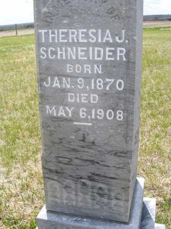 SCHNEIDER, THERESIA J. - Frontier County, Nebraska | THERESIA J. SCHNEIDER - Nebraska Gravestone Photos