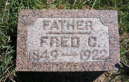 SCHROEDER, FRED C. - Frontier County, Nebraska | FRED C. SCHROEDER - Nebraska Gravestone Photos