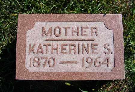 SCHROEDER, KATHERINE S. - Frontier County, Nebraska | KATHERINE S. SCHROEDER - Nebraska Gravestone Photos