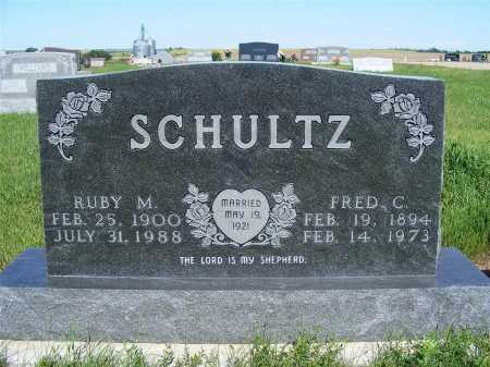 JOHNSON SCHULTZ, RUBY M. - Frontier County, Nebraska | RUBY M. JOHNSON SCHULTZ - Nebraska Gravestone Photos