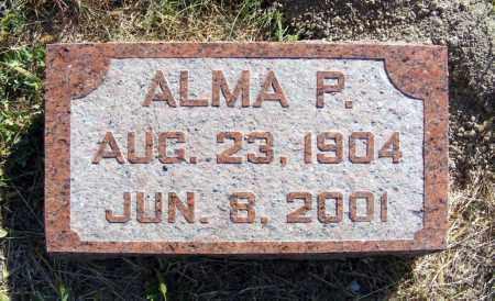 SCHURR, ALMA P. - Frontier County, Nebraska | ALMA P. SCHURR - Nebraska Gravestone Photos
