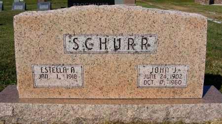 SCHURR, JOHN J. - Frontier County, Nebraska | JOHN J. SCHURR - Nebraska Gravestone Photos