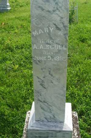 SCULL, MARY A. - Frontier County, Nebraska | MARY A. SCULL - Nebraska Gravestone Photos