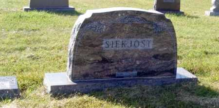 SIEKJOST, FAMILY - Frontier County, Nebraska | FAMILY SIEKJOST - Nebraska Gravestone Photos