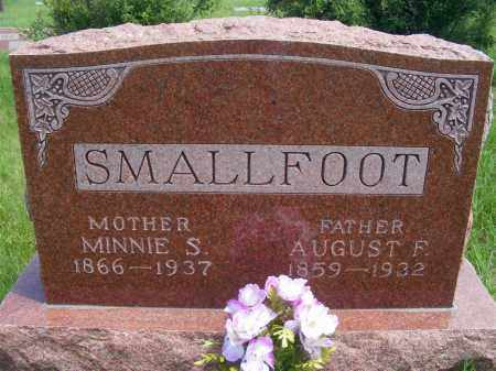 SMALLFOOT, AUGUST F. - Frontier County, Nebraska | AUGUST F. SMALLFOOT - Nebraska Gravestone Photos