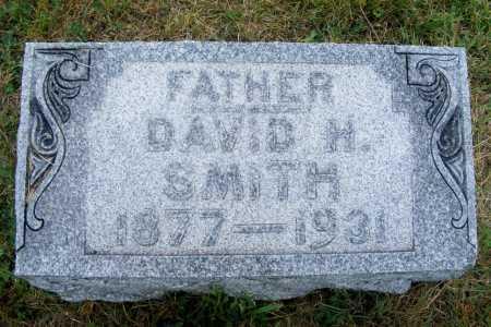 SMITH, DAVID H. - Frontier County, Nebraska   DAVID H. SMITH - Nebraska Gravestone Photos