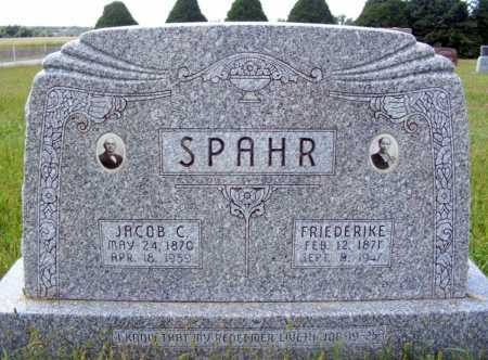 SPAHR, JACOB C. - Frontier County, Nebraska | JACOB C. SPAHR - Nebraska Gravestone Photos