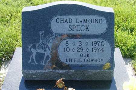 SPECK, CHAD LAMOINE - Frontier County, Nebraska   CHAD LAMOINE SPECK - Nebraska Gravestone Photos